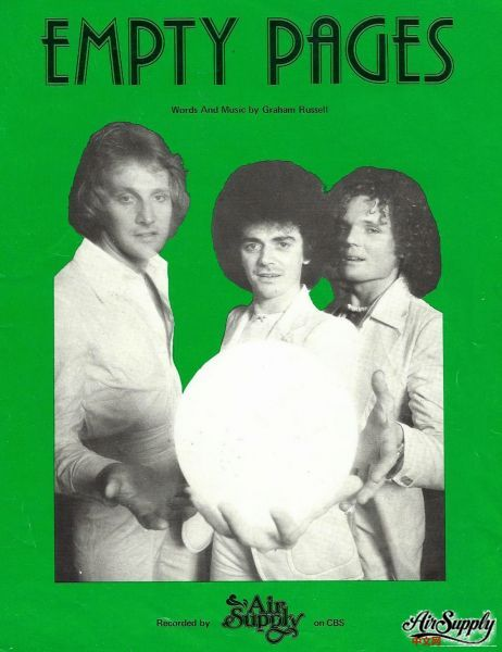 Empty Pages 1977 Sheet Music.jpg